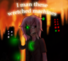 :VC: These Wretched Machines by GlassFeline