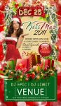 Kiss-Mas Flyer Template by tinachang89