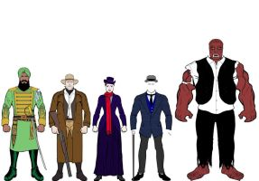 League Extraordinary Gentlemen by mrmachination