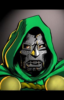 Doom (color) by sirandal