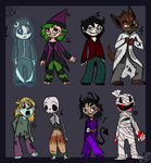 Offer to Adopt - Halloween chibi adoptables - OPEN by Daisyvayle