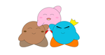 Me Kirby and Prince Fluff 3 by corneilamar