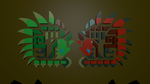 Rathalos and Rathian Icons 2 by Mikey-Spillers