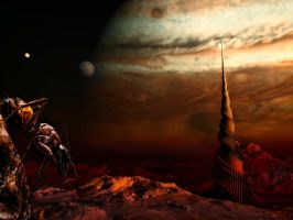 radio signals discovered coming from Ganymede by pfrancke