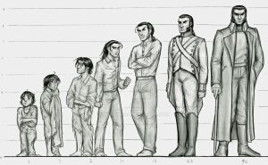 Javert: Age Progression by Nyranor