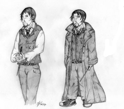 Snape #5 by EvilSeverus