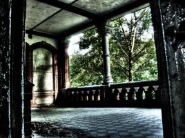 The Porch HDR by damagefilter