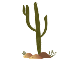 mlp fim cactus by thecoltalition