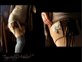 Lady Victoria Lace Up Garter by Nya99