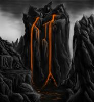 Lava Mountain Concept by Callthistragedy1