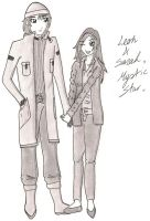 Sarah And Leon ReUploaded by SaMBa-Art