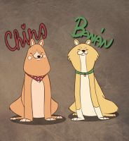 Shibas by LissiKete