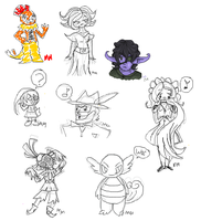 iscribble doodles 3 by MalevolentMask