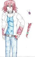 Yugioh 5Ds OC: Rose Q. Starlight by michaelthedragon39