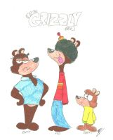 The Grizzly Bros. by RockyToonz93