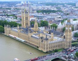 the houses of parliament by Vitaloverdose
