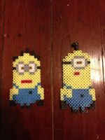 Minions from Despicable Me by Yohobojoe