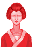 Lady in Red by ShimminyCricket