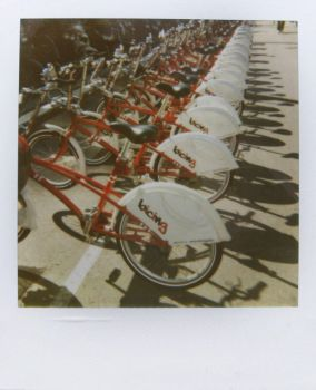 bicing by mariaper