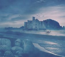 Castle Blue by tina1138
