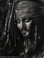 Captain Jack Sparrow by jessie145