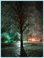 Holiday Ice Storm by artjte