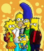 Simpsons: Six years later by MagicMikki