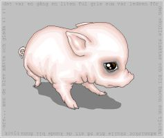 Pig by KattenFindus