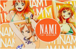 Nami ONE PIECE Signature by 0StarLights0