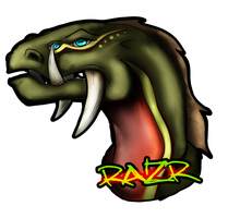 [ Lvl 2 ] Razr Portrait by Myth-Dragon