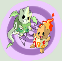 PKMNation - Two Eggs by Kamajii-the-mog