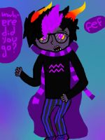 Eridan: find fef by HollieyEmoFreak