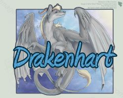 Drakenhart - Full Body Badge by Ulario