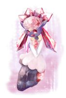 Diancie by G-Chan0nly