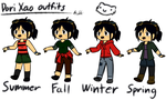 Dori Xao (seasonal outfits) by Starry-Bat1