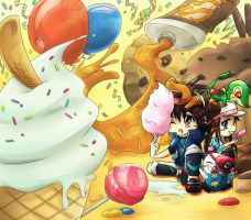 Gift: Pokemon Birthday Party by Niramuchu