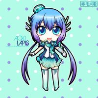 Vocaloid - Aoki Lapis by Akage-no-Hime