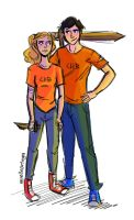 Percabeth! by illustrationrookie