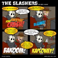 The Slashers 28 by crashdummie