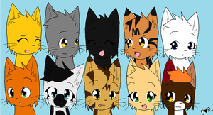 Jon's first 3 litters and 1 from the 4th by skyclan199