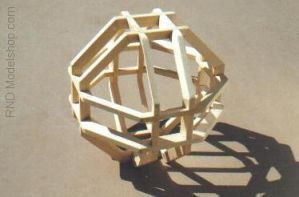 6 Octagons on 3 Axis by RNDmodels