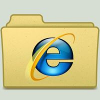 IE 8 Folder by jasonh1234