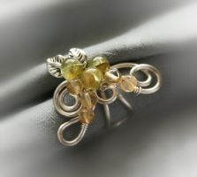 Early Vine Ear Cuff by Bodza