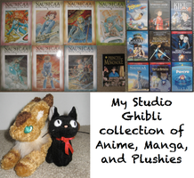 My Ghibli Collection by Angel-of-Alchemy-42