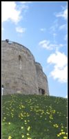 Cliffords Tower, York by sicklittlemonkey