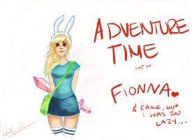 Fionna the Human by xxhopelessromantic
