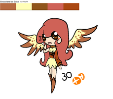 [OUTDATED/CLOSED] Chocolate Ice Cake Adoptable by OkayIlie