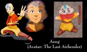 Aang Ornament by All-shall-fade
