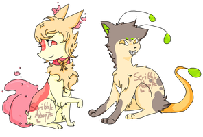 (Price Reduced) Design Adopts 4 ~ [ 1/2 OPEN ] by ScribbleAdopts