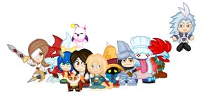Chibi Final Fantasy IX by LegendaryFrog